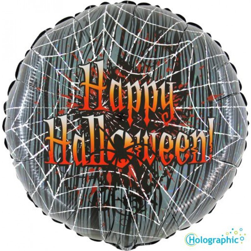 "Palloncini halloween Ragnatela Insanguinata (18"")"