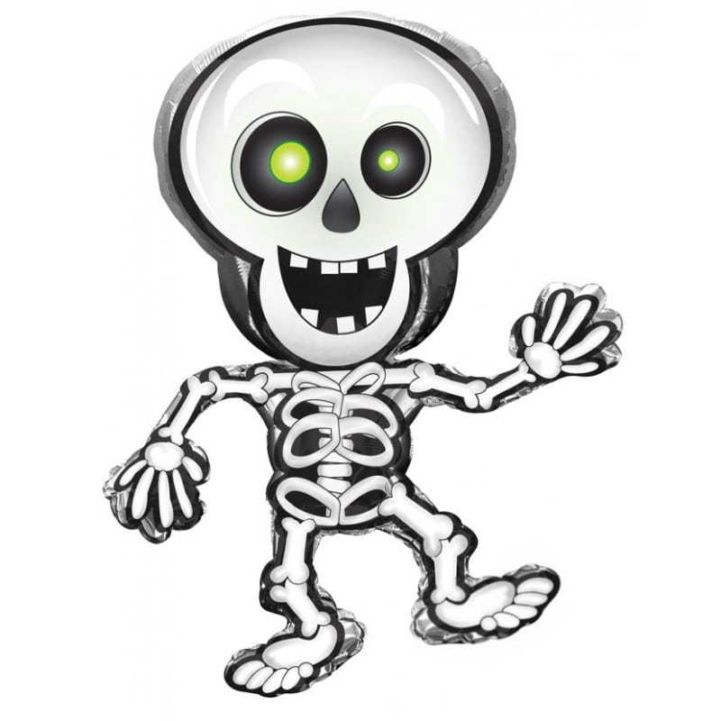 "Palloncini halloween Scheletro SuperShapes™ (40"")"