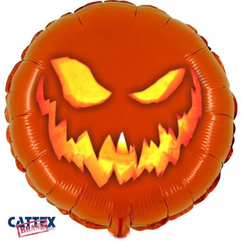 "Palloncini halloween Zucca Halloween (18"")"