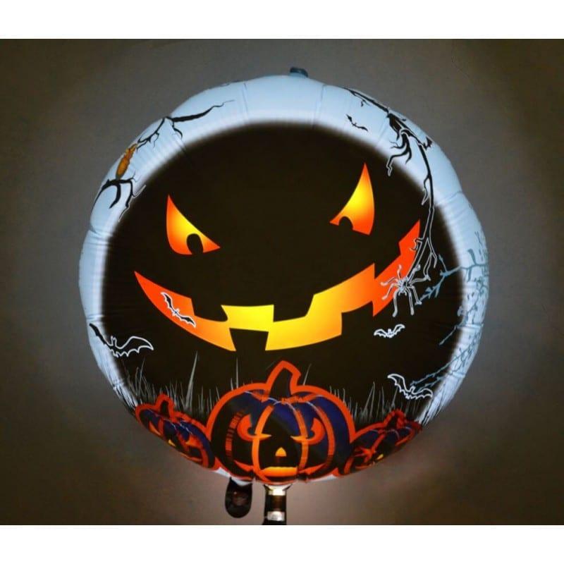 "Palloncini halloween Zucca LED (25"")"
