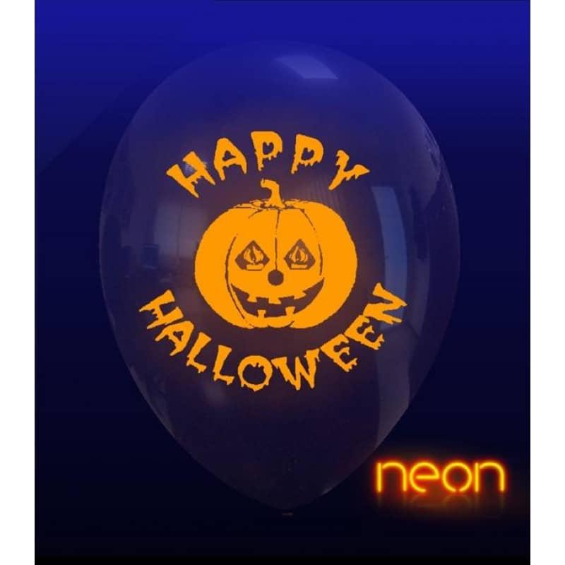 Palloncini halloween Zucca Neon