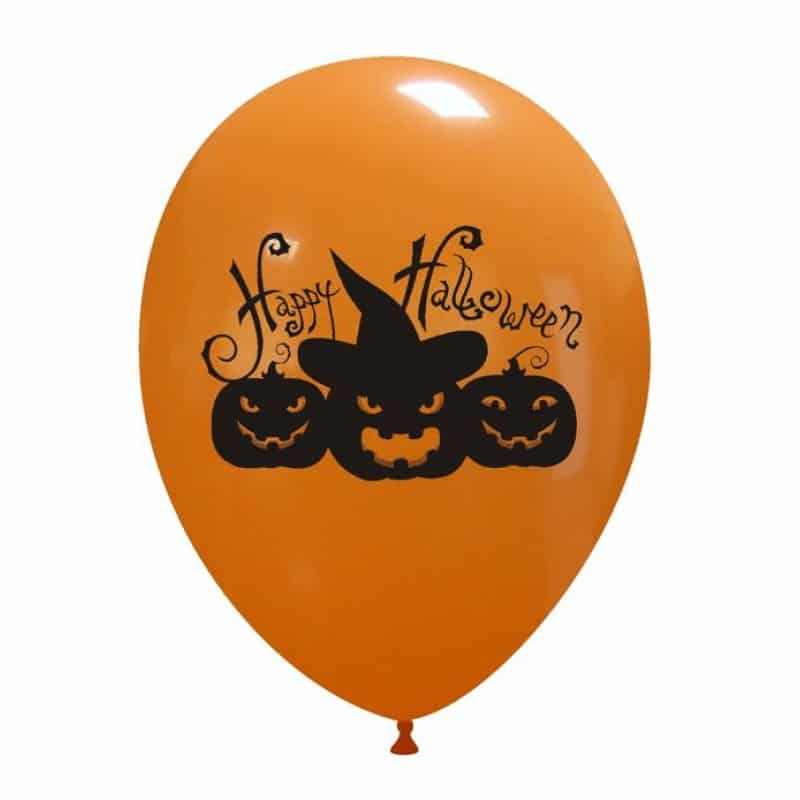 Palloncini halloween Zucca Stregata