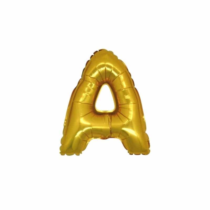Palloncini lettere mylar piccole -Lettara A