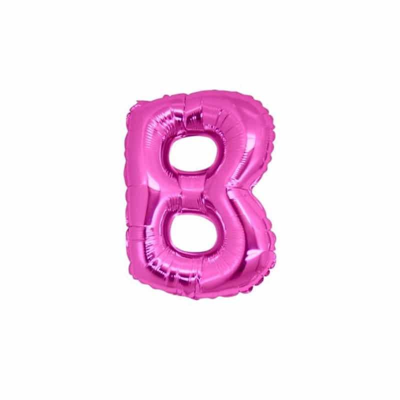 Palloncini lettere mylar piccole -Lettera B