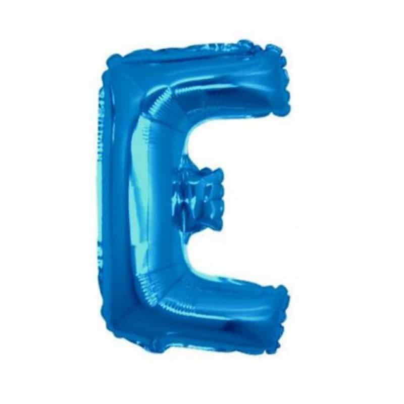 Palloncini lettere mylar medie -Lettera E