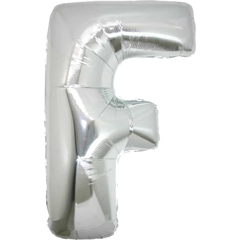 Palloncini lettere mylar maxi -Lettera F