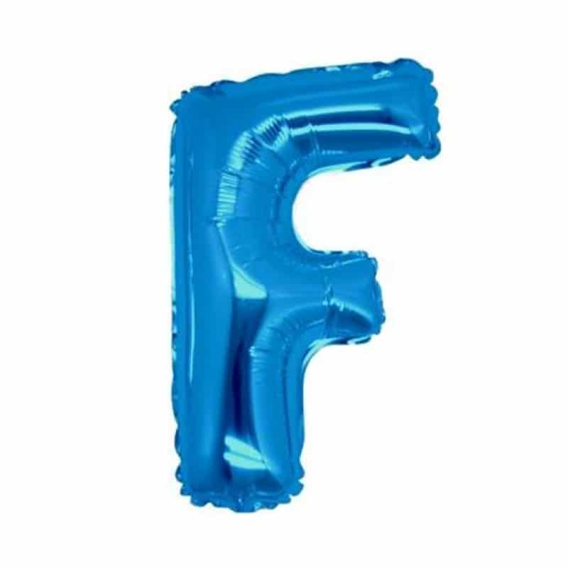 Palloncini lettere mylar medie -Lettera F
