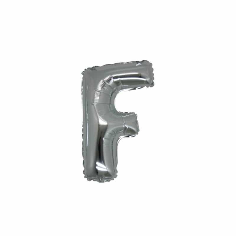 Palloncini lettere mylar piccole -Lettera F