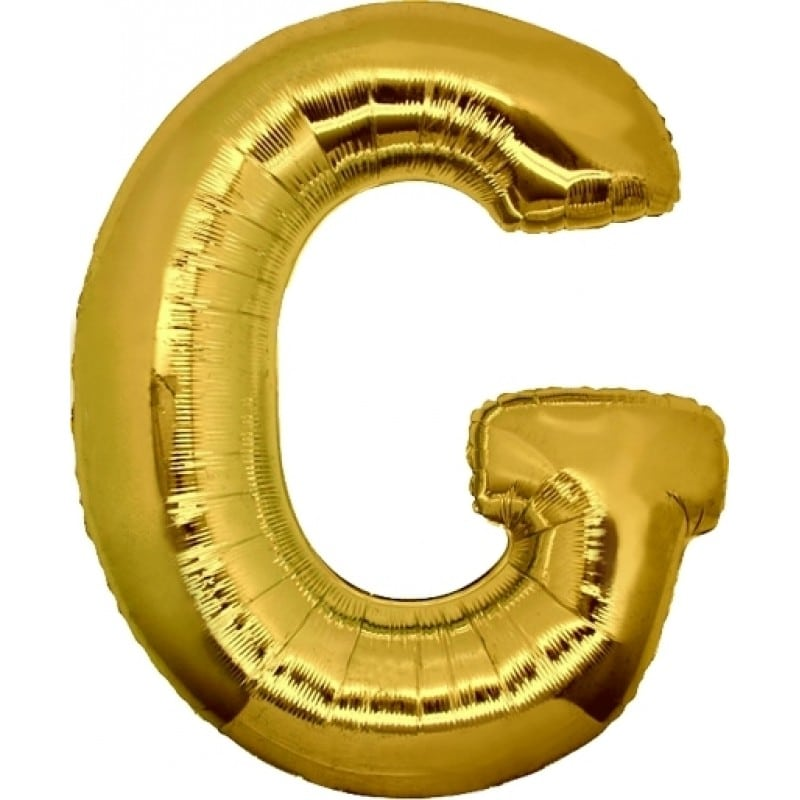 Palloncini lettere mylar maxi -Lettera G