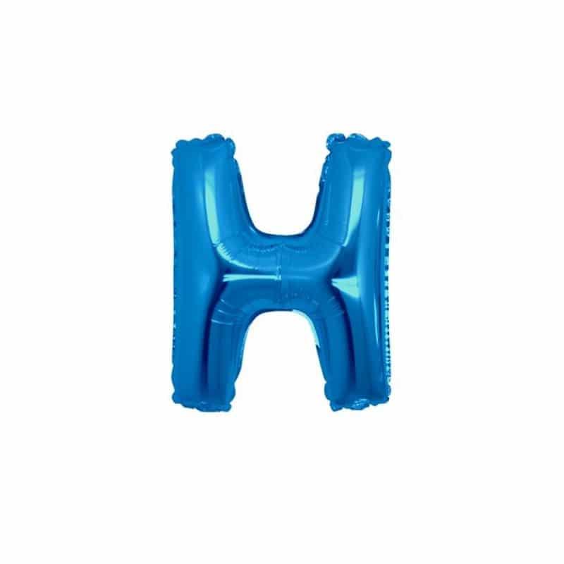 Palloncini lettere mylar piccole -Lettera H