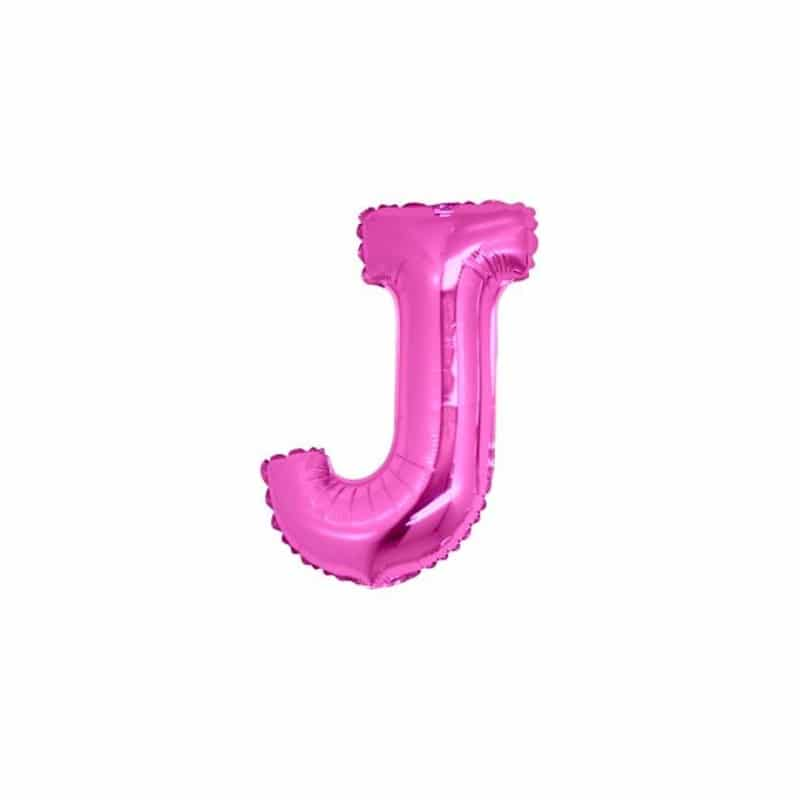 Palloncini lettere mylar piccole -Lettera J
