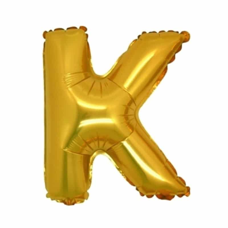 Palloncini lettere mylar medie -Lettera K
