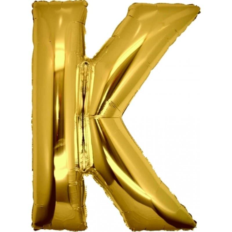 Palloncini lettere mylar maxi -Lettera K