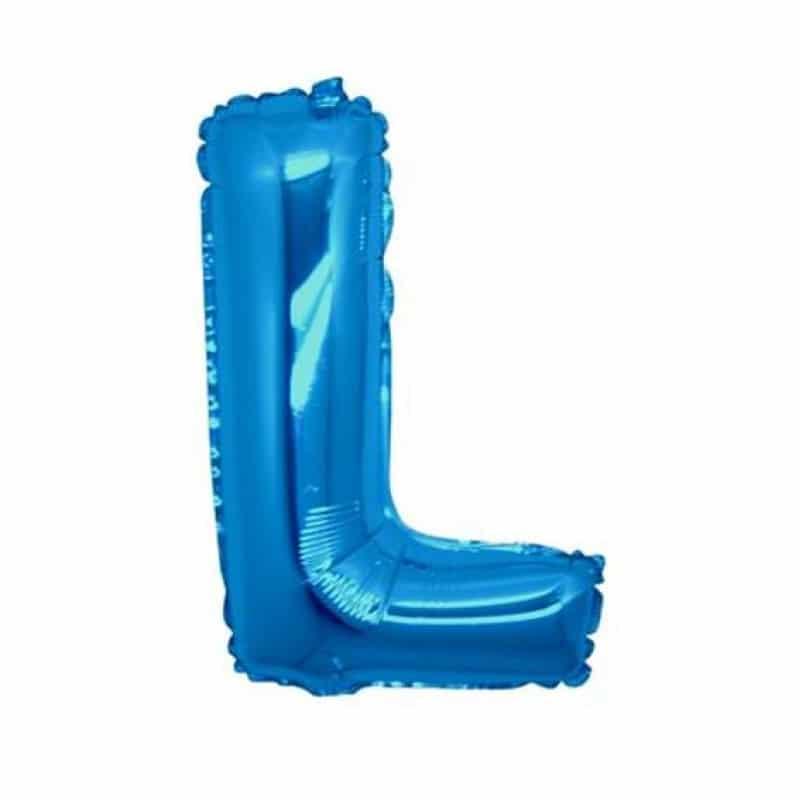 Palloncini lettere mylar medie -Lettera L