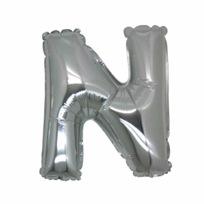 Palloncini lettere mylar medie -Lettera N