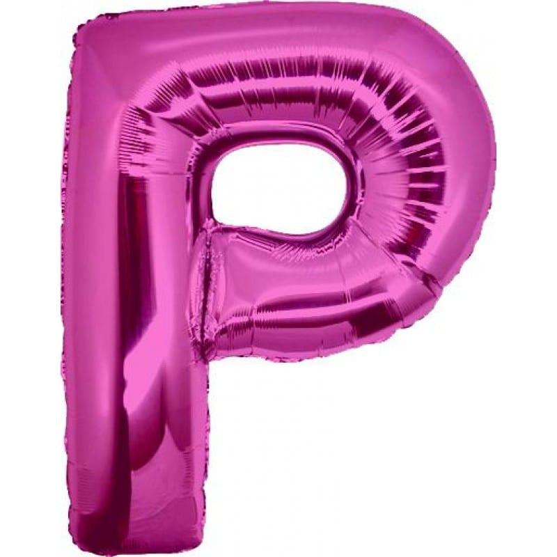 Palloncini lettere mylar maxi -Lettera P