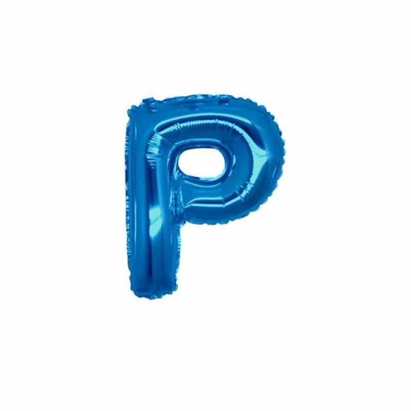 Palloncini lettere mylar piccole -Lettera P
