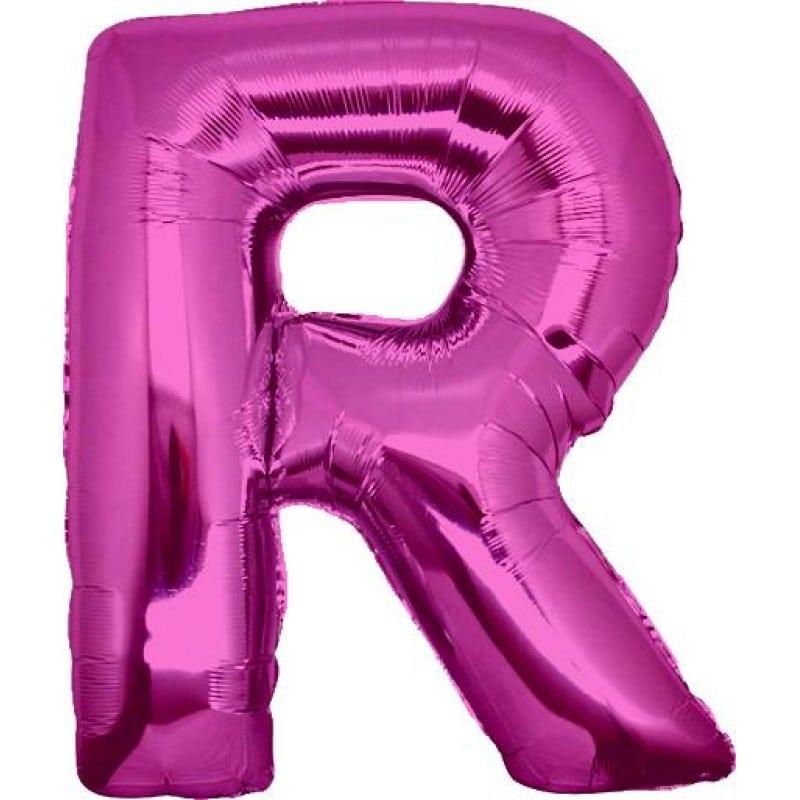 Palloncini lettere mylar maxi -Lettera R