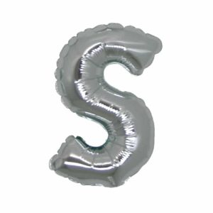 Palloncini lettere mylar medie -Lettera S