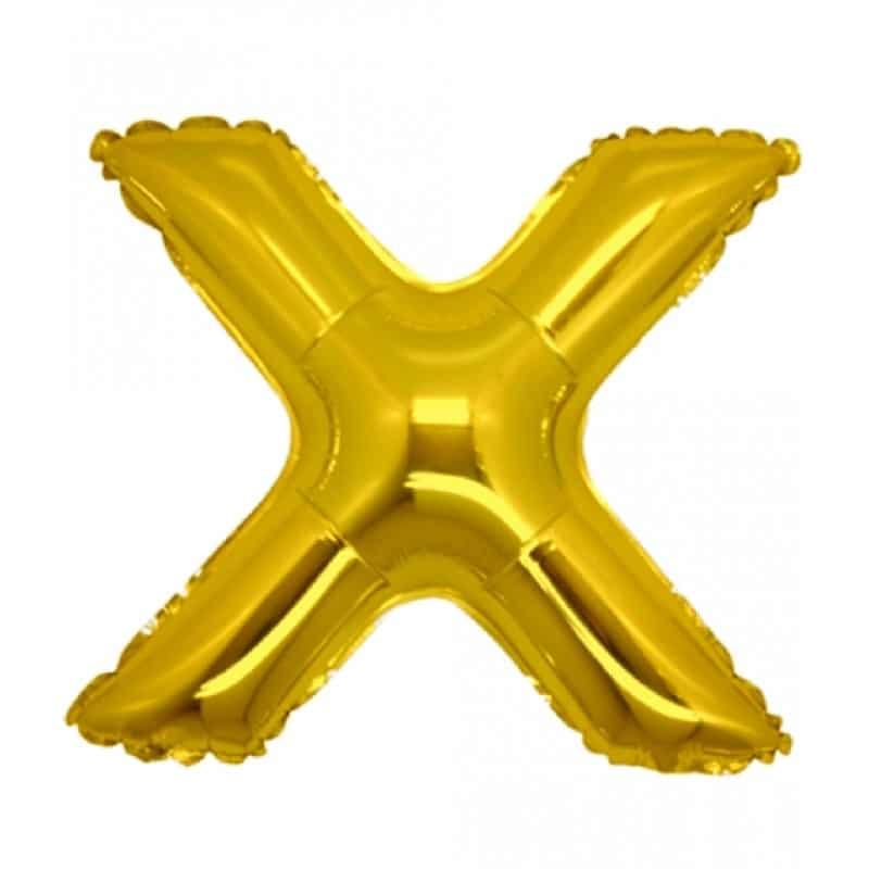 Palloncini lettere mylar medie -Lettera X