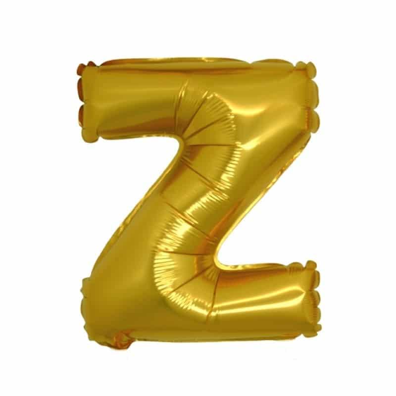 Palloncini lettere mylar medie -Lettera Z