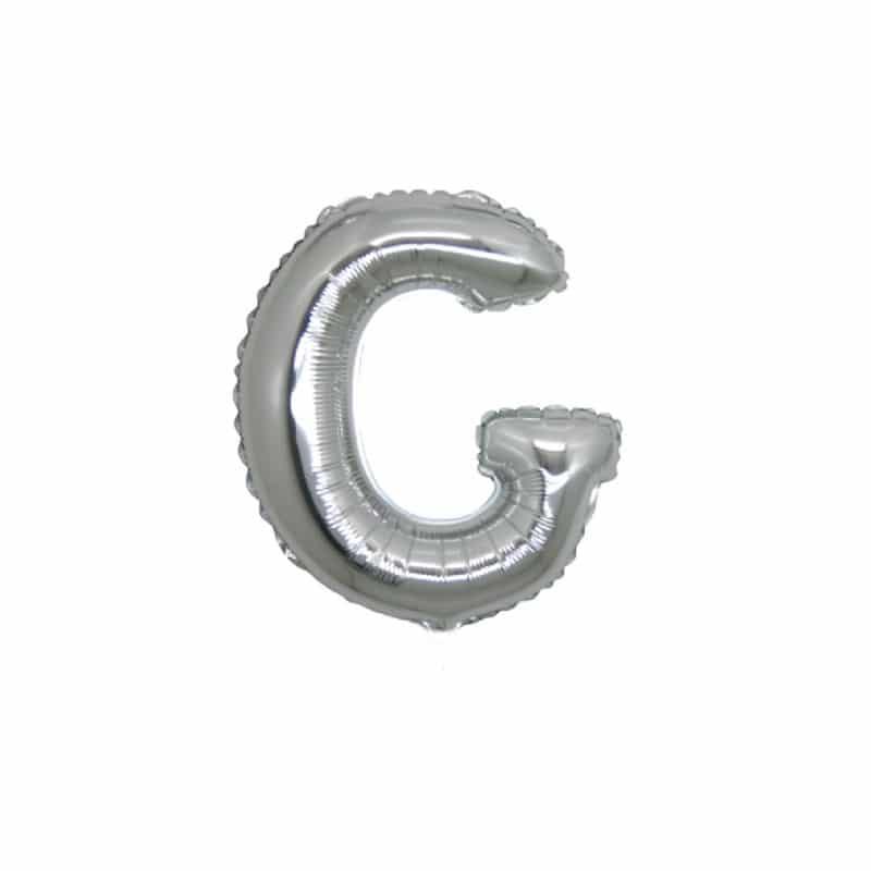 Palloncini lettere mylar piccole -Lettera G