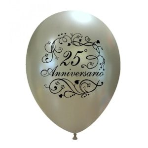 Palloncini matrimonio 25° Anniversario