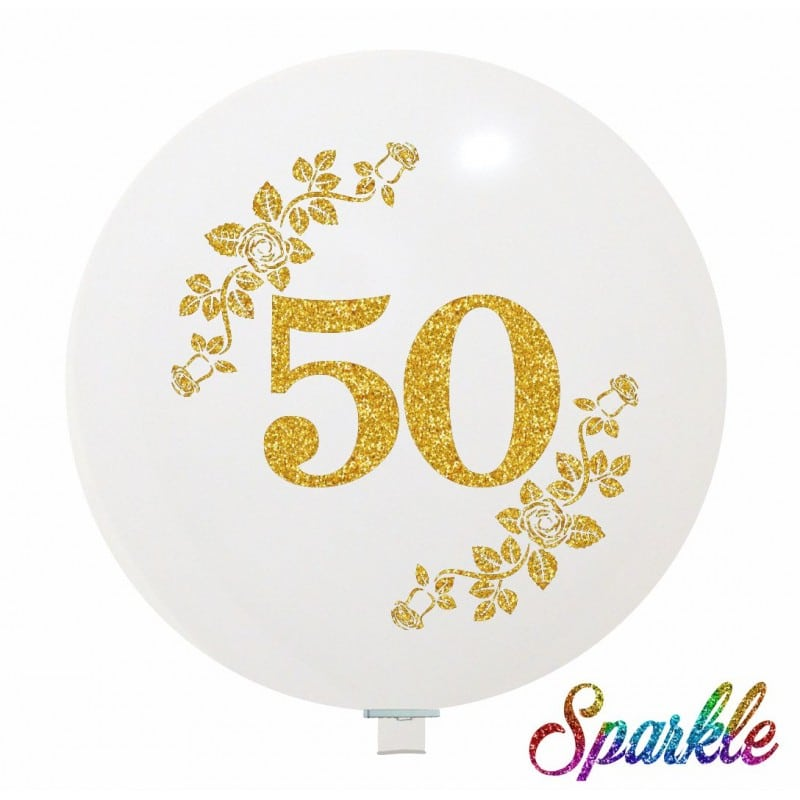 Palloncini matrimonio 50 (Sparkle)