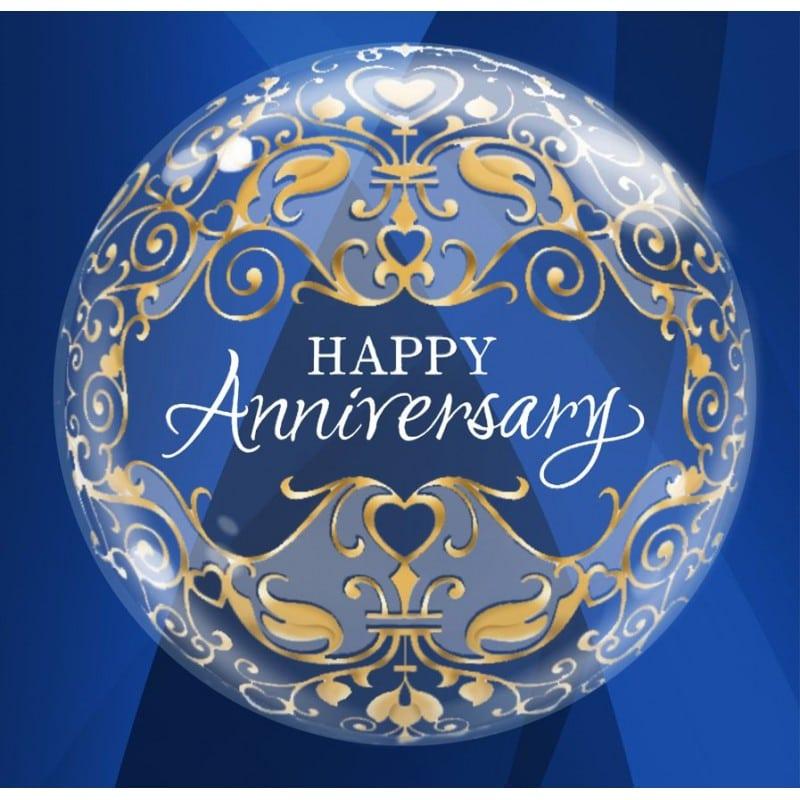 "Palloncini matrimonio Anniversary (22"")"