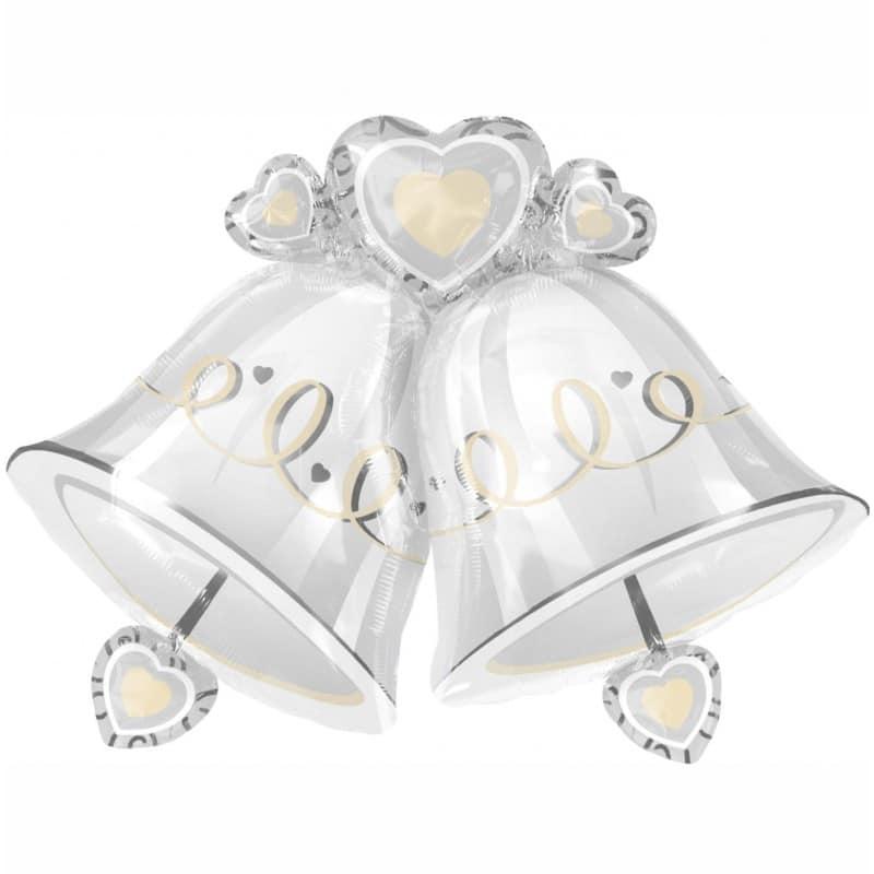 "Palloncini matrimonio Campane Supershape (35"")"