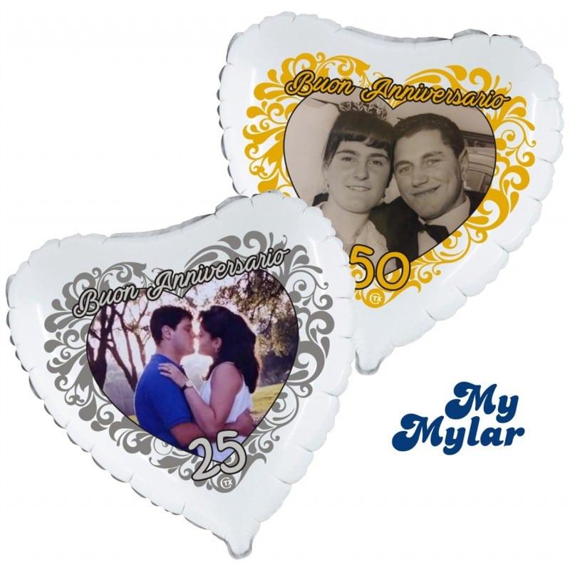 "Palloncini matrimonio MyMylar - Anniversario Foto (18"")"