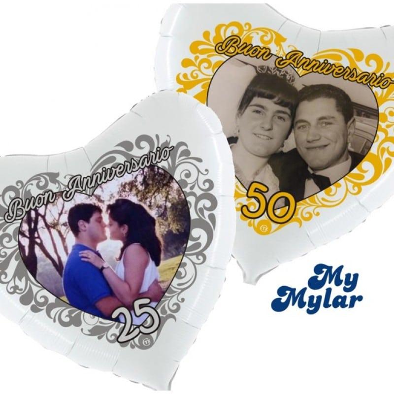 "Palloncini matrimonio MyMylar - Anniversario Foto Supershape (36"")"
