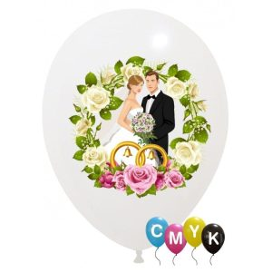 Palloncini matrimonio Sposi - Full Color (CMYK)