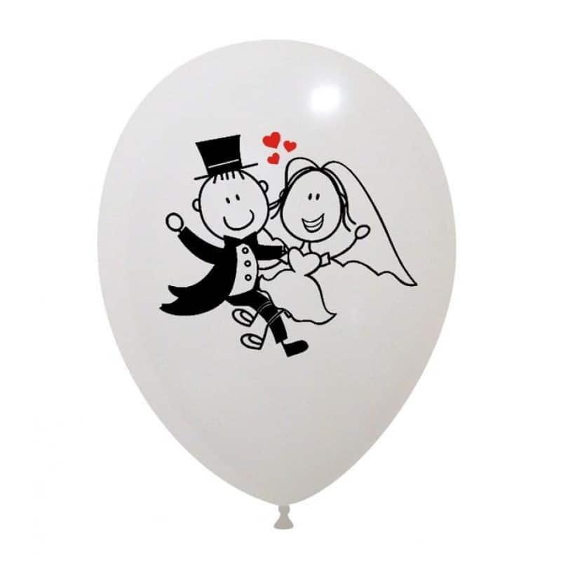 Palloncini matrimonio Sposini