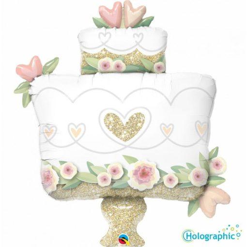 "Palloncini matrimonio Torta Nuziale Supershape (30"")"
