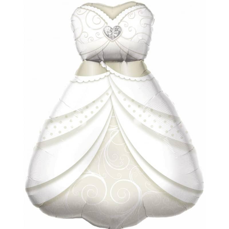 """Palloncini matrimonio Vestito da sposa (38"""")"""