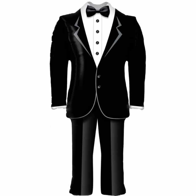 """Palloncini matrimonio Vestito da sposo (37"""")"""