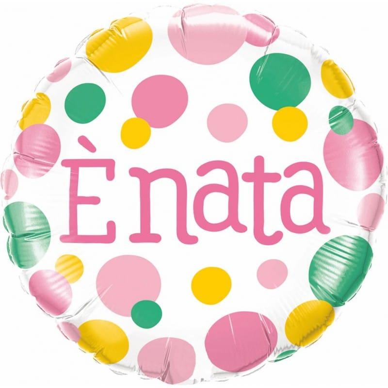 """Palloncini nascita è Nata Pois (18"""")"""