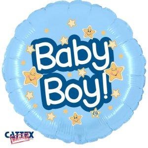 """Palloncini nascita Baby Boy (18"""")"""