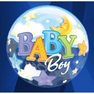 """Palloncini nascita Baby Boy (22"""")"""