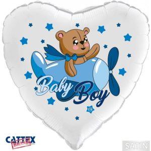 """Palloncini nascita Baby Boy Orsetto (18"""")"""