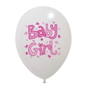 Palloncini nascita Baby Girl
