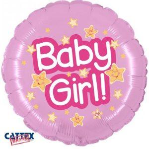 "Palloncini nascita Baby Girl (18"")"