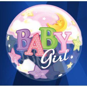 "Palloncini nascita Baby Girl (22"")"