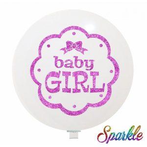 Palloncini nascita Baby Girl (Sparkle)