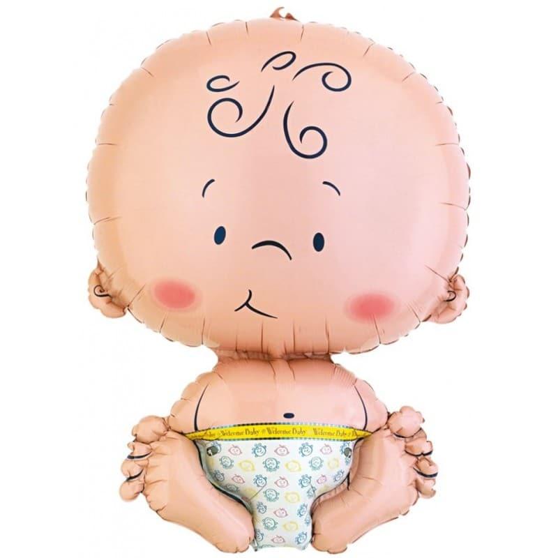 "Palloncini nascita Baby XL® SuperShapes™ (25"")"