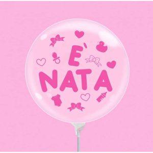 """Palloncini nascita Bubble Party - è Nata (10"""")"""