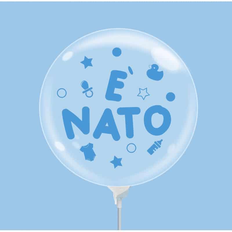 """Palloncini nascita Bubble Party - è Nato (10"""")"""