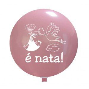 Palloncini nascita E' Nata (cicogna)