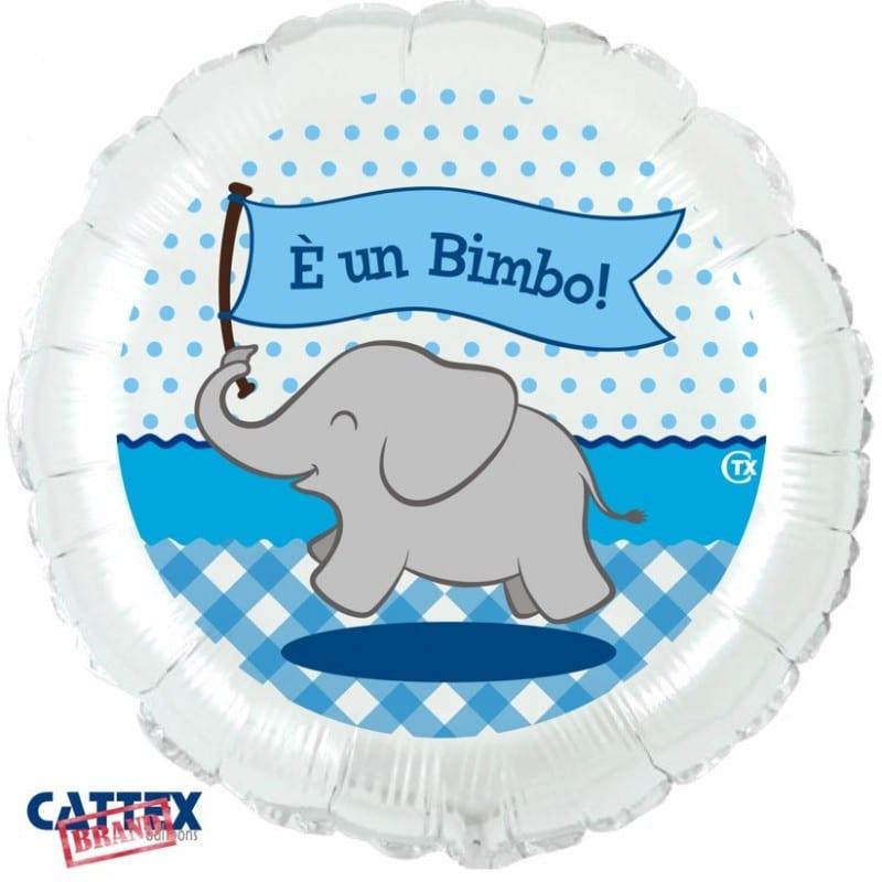 """Palloncini nascita Elefantino è un Bimbo! (18"""")"""